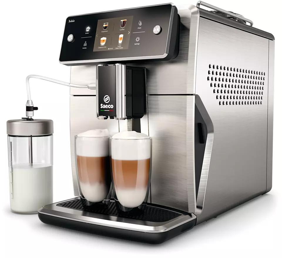 Saeco SM7685/00 Xelsis automata kávéfőző automata tejhabosítóval