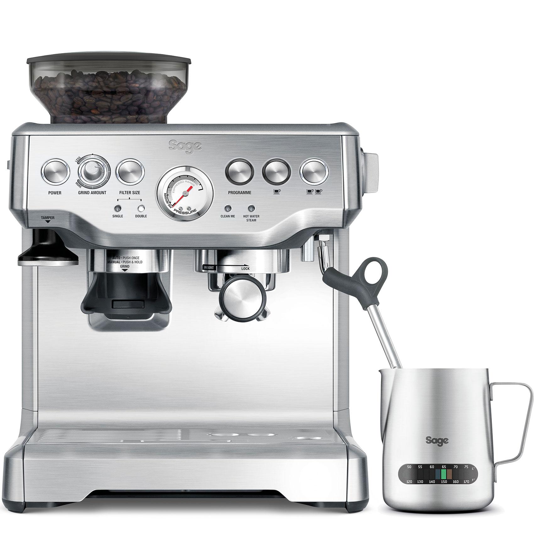 Sage BES875BSS presszó kávéfőző