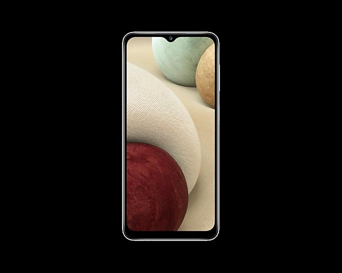 Samsung A127F GALAXY A12 DS 32GB, WHITE mobiltelefon