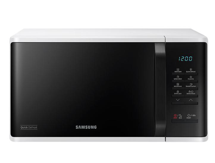 Samsung MS23K3513AW/EO mikrohullámú sütő Quick Defrost funkcióval