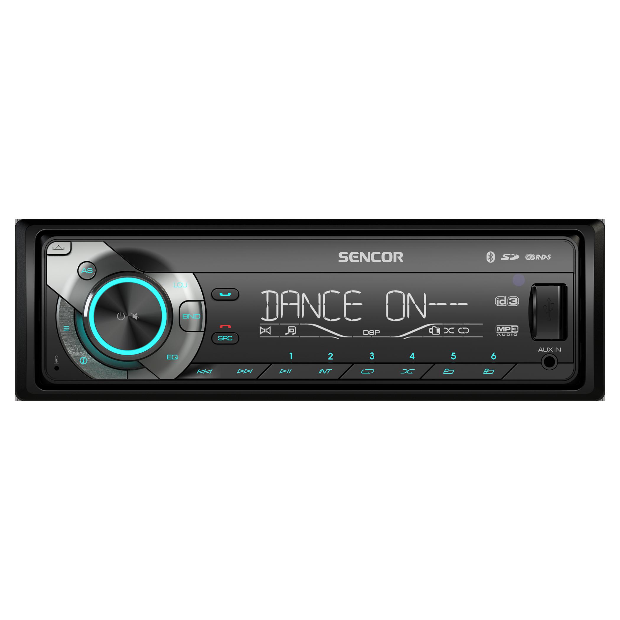 Sencor SCT5051BMR autórádió USB, SD/MMC, Bluetooth