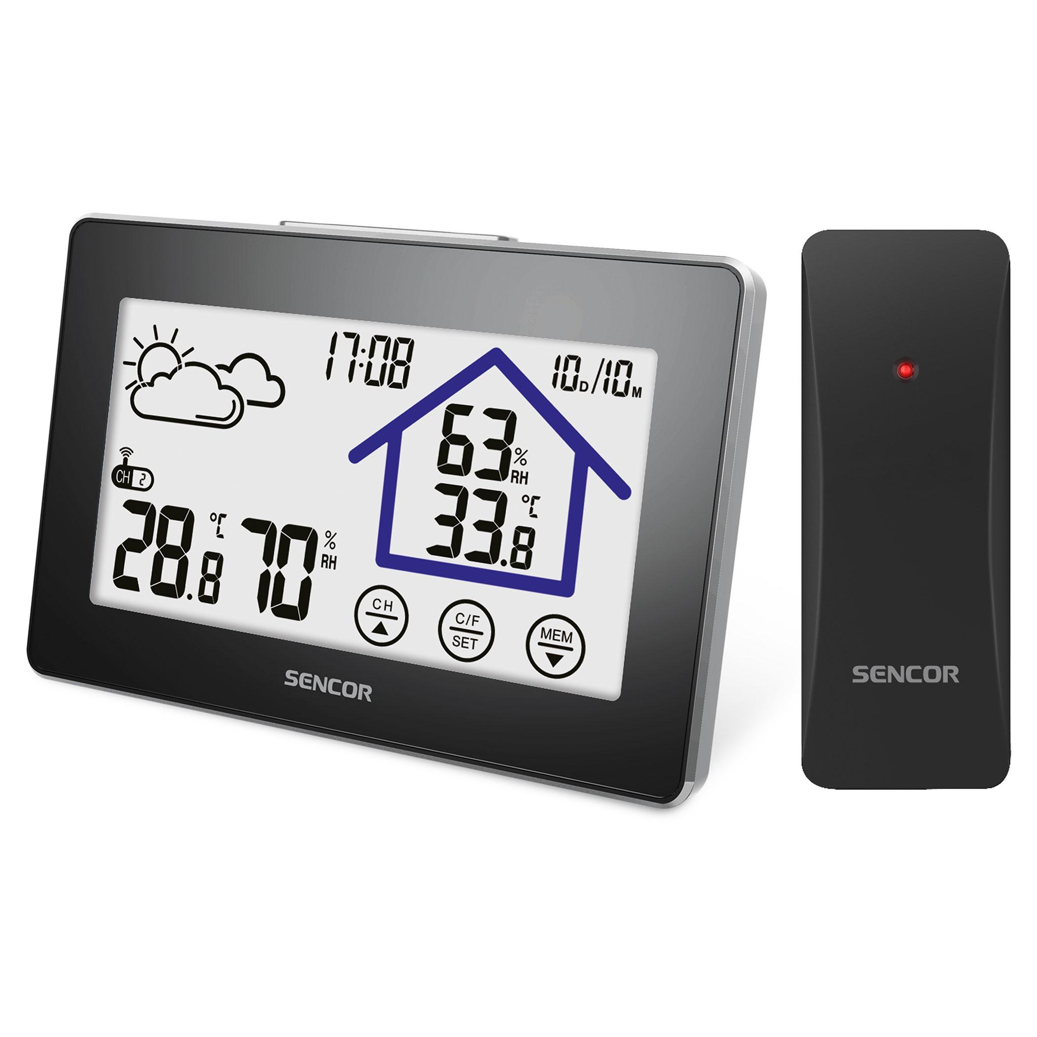 Sencor SWS2999 időjárás állomás