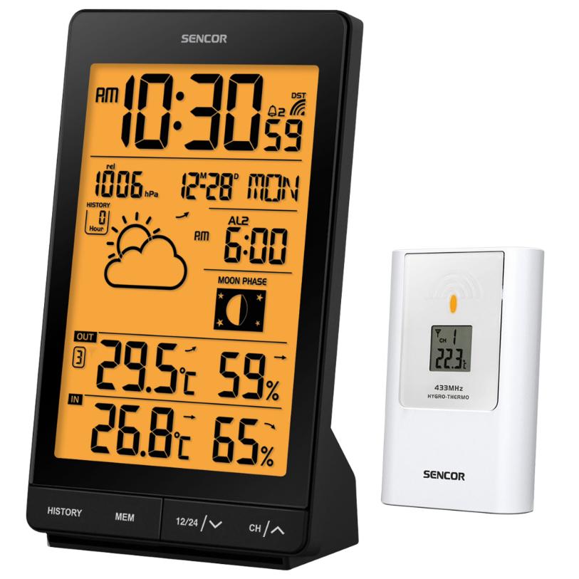 Sencor SWS5451 időjárás állomás