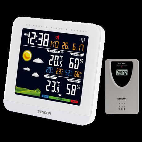 Sencor SWS5600 időjárás állomás