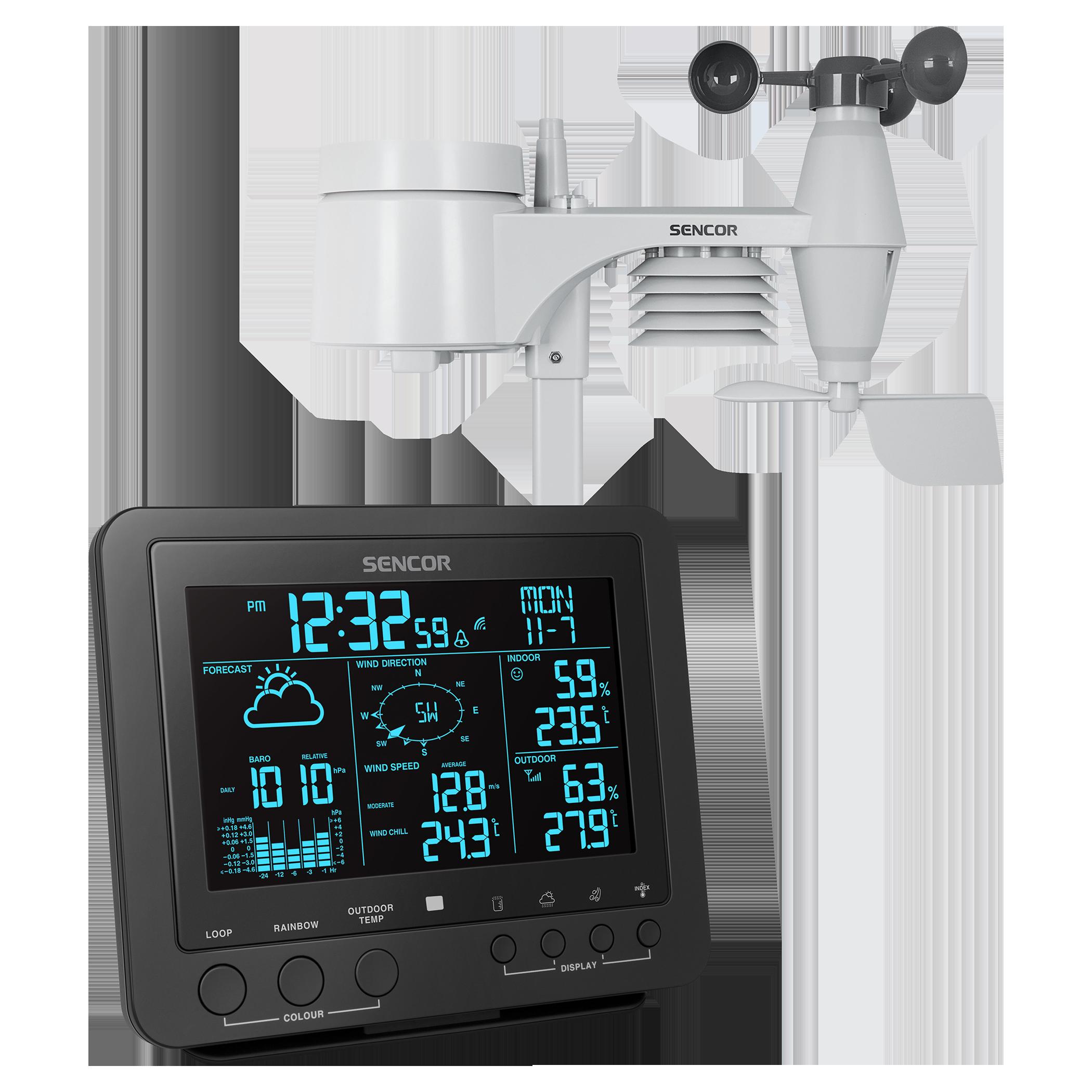 Sencor SWS9700 Professzionális meteorológiai állomás