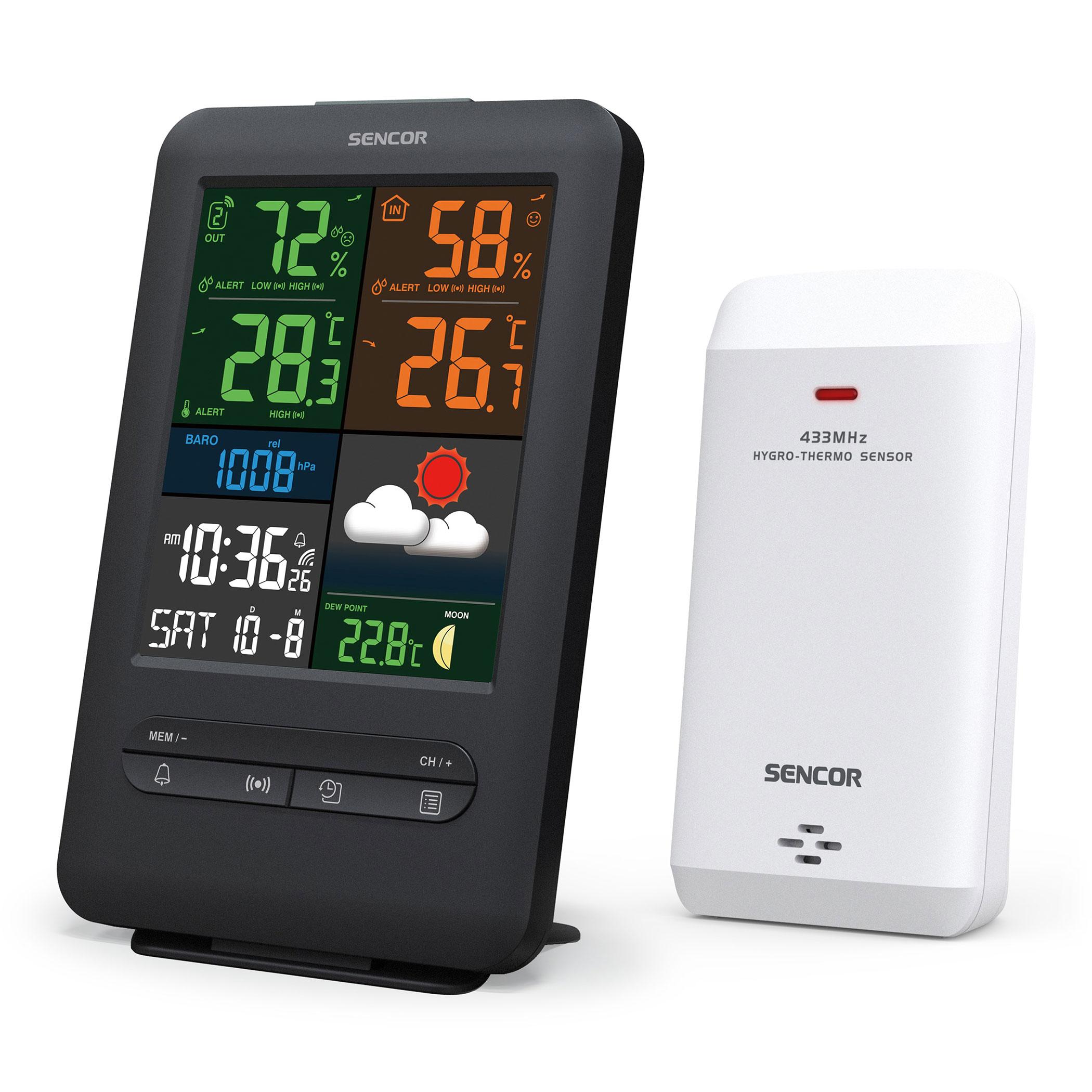 Sencor SWS 7300 időjárás állomás