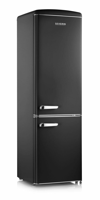 Severin RKG8922 Retro Hűtőszekrény Fekete 244L