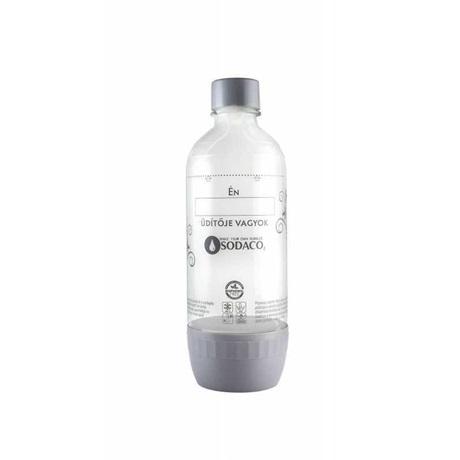 Sodaco 579052 szénsavasító flakon PET 1 L, szürke