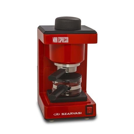 Szarvasi SZV-612/3 Mini Espresso kávéfőző, piros