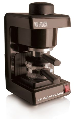 Szarvasi SZV-612/3 Mini Espresso kávéfőző, barna