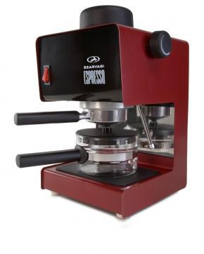 Szarvasi SZV-611 Eszpresszó kávéfőző, bordó
