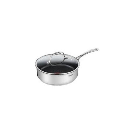 Tefal H8103214 Ever Cook pároló serpenyő fedővel