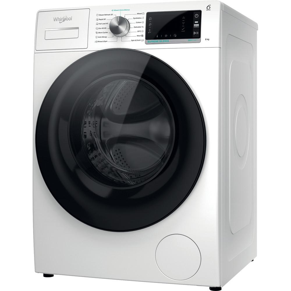 Whirlpool W6XW845WBEE elöltöltős mosógép